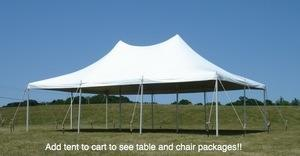 20' by 30' Pole Tent Special Package