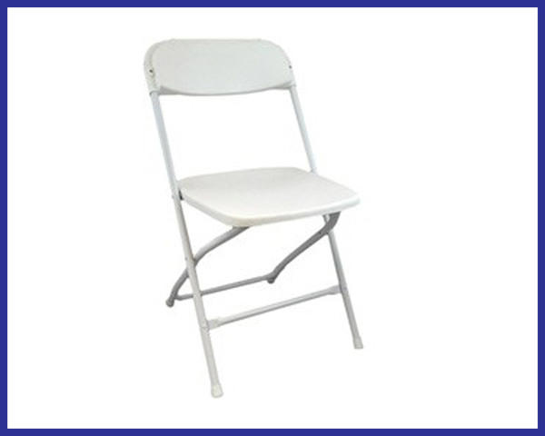 Chair - Folding WHITE