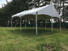 Keder Frame Tent - 20 ft. by 20 ft. Gable End