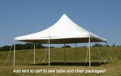 20 ft. by 20 ft. Pole Tent