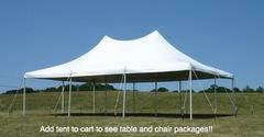 20 ft. by 30 ft. Pole Tent