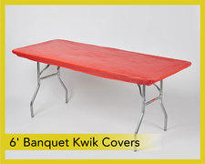 Kwik-Cover 6ft. Banquet