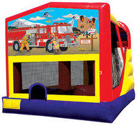 C4 Fireman Mission Combo Bouncer with slide