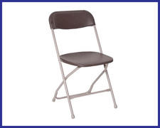 Chair - Folding BROWN