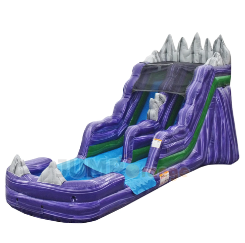 16' Dark Night Inflatable Water Slide