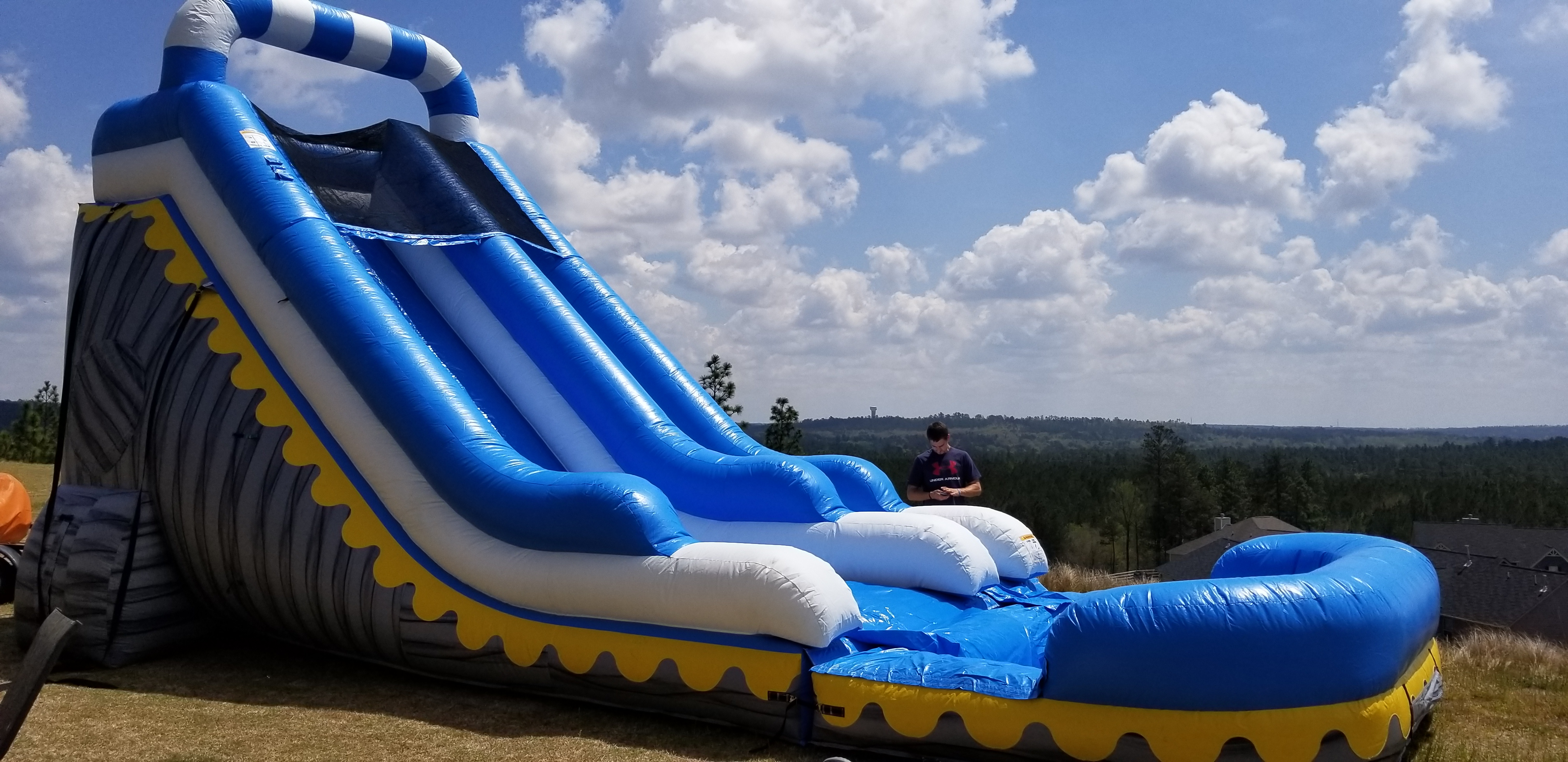 water slide rental aiken sc, water slide rental augusta ga