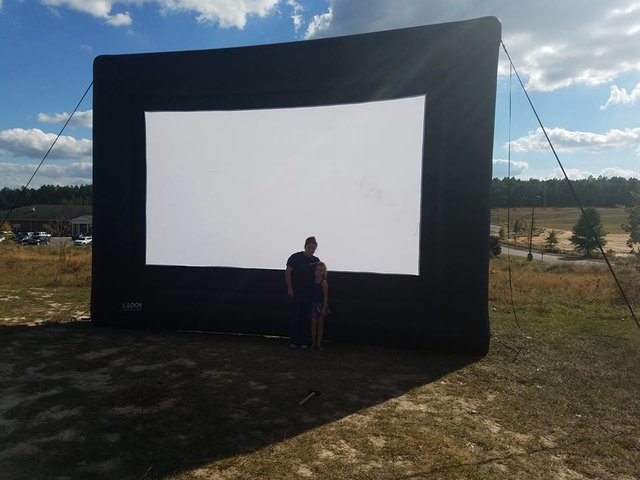 16' Movie Screen