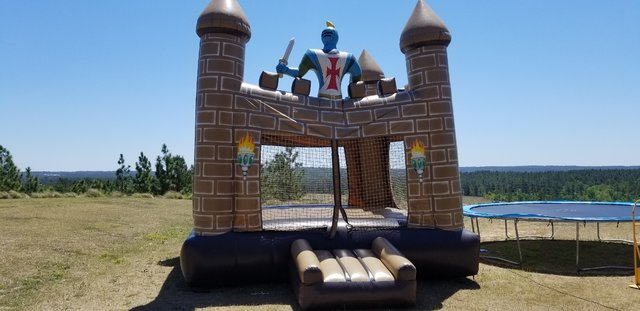 Knights Castle Bounce House