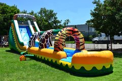 18' Jungle Zoo W/Slip-n-Slide