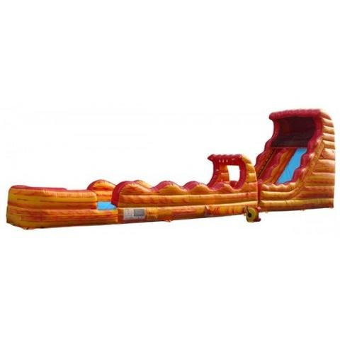 18 ft Volcanic wet slide with slip n slide
