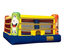 15x15 Boxing ring with gloves