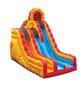 20 ft fire and Ice slide
