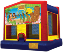 15x15 Luau Bouncer