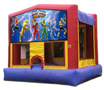 15x15 Power Rangers Bouncer