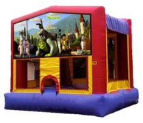 15x15 Shrek Bouncer