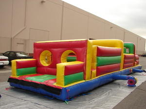 Obstacle course no slide