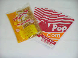 1 Extra set of supplies for Popcorn machine