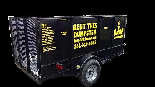 7.5 yard dumpster