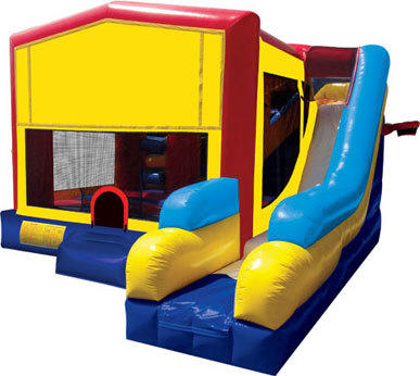Bouncer/Obstacle/Slide Combo