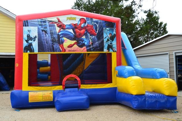 Spider-man Obstacle Slide Combo