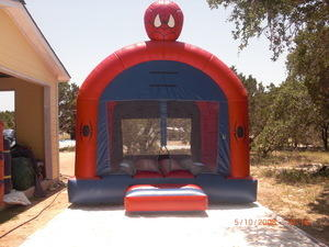 Spidey Boy Bounce House
