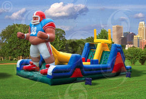 Endzone Obstacle Course