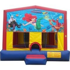 Little Mermaid Mod Bounce House