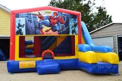 Spider-man Bouncer/Obstacle/Slide Combo (5-1)