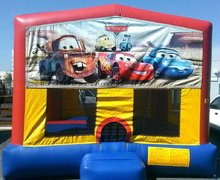 Cars Mod Bounce House