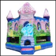 Disney Princess Castle Moonwalk
