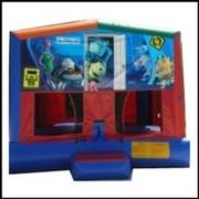 Monster's Inc Mod Bounce House