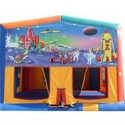 Astronaut Outer Space Mod Bounce House