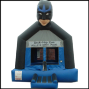 Superhero Bounce House
