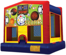 Sports Mod Bounce House