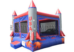 Rocket Ship Bounce House