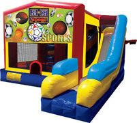 Sports Bouncer/Obstacle/Slide Combo (5-1)