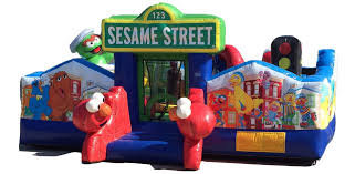 Sesame Street Obstacle Play System