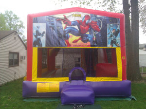 Spider-man Jump N Slide