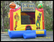 Sports Arena Bounce House
