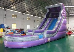 18ft Purple Wave Dry Slide
