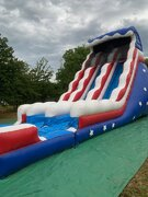 22' Captain America Dual Lane Dry Slide