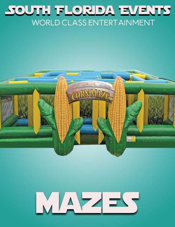 Inflatable Maze Rentals