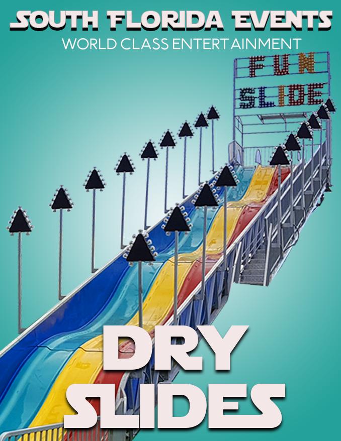 Dry Slide Rentals
