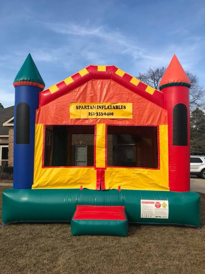 Inflatable Bounce House Rentals in Saraland Alabama and Mobile AL