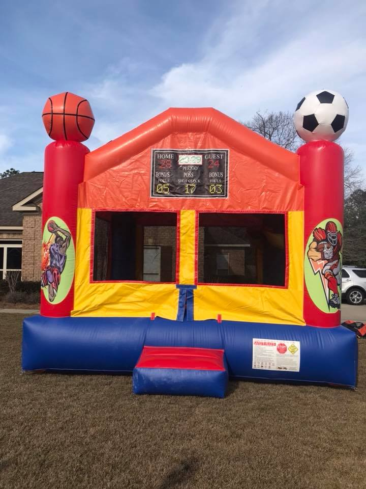Inflatable Sports Bounce House Rental Mobile Alabama