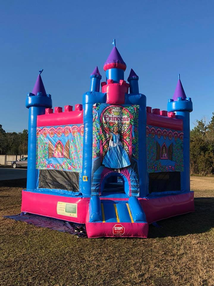 disney Princess Bounce House Rental in Mobile Alabama