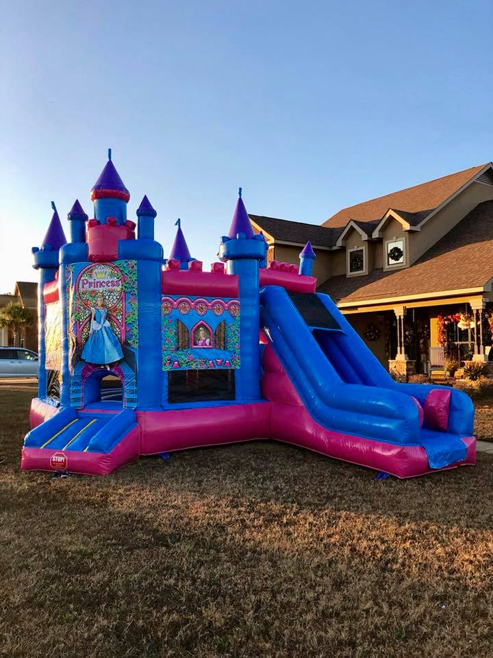 Inflatable Princess Bounce House rental in Mobile AL