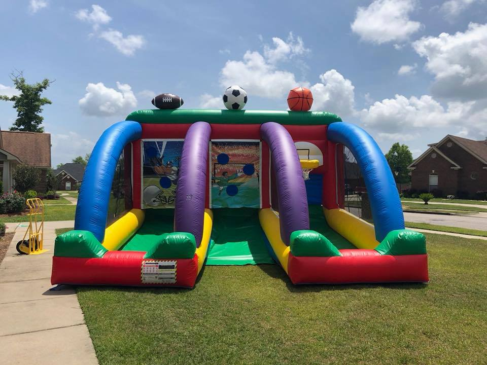 Inflatable sports game rentals in mobile alabama