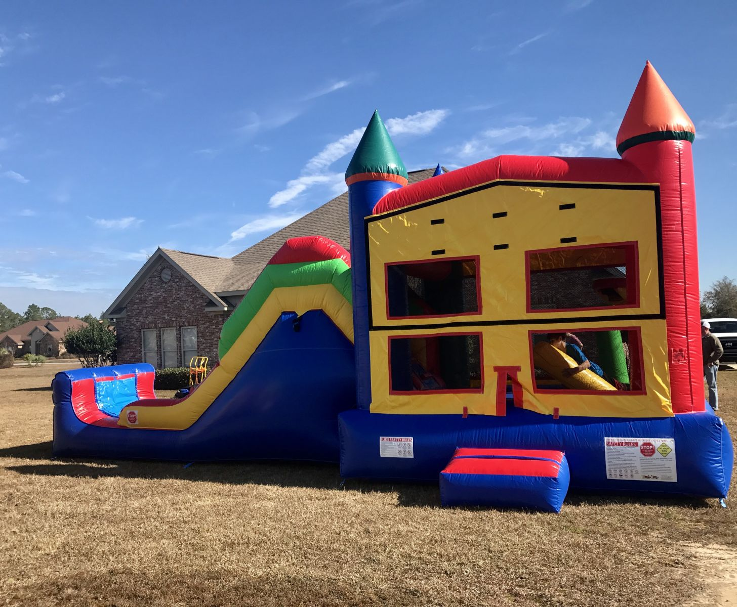 Inflatable bounce house rentals near me