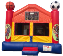 15x15 Sports Bounce House